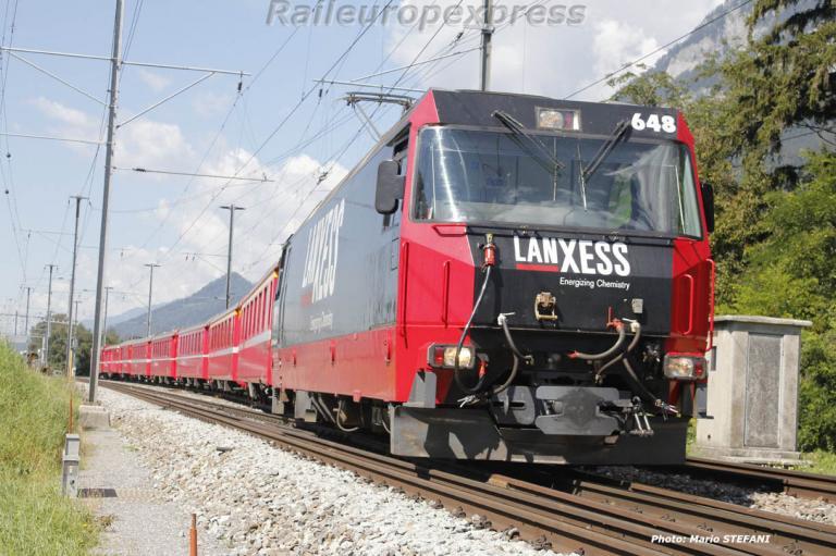 Ge 4-4 III 648 RhB à Felsberg