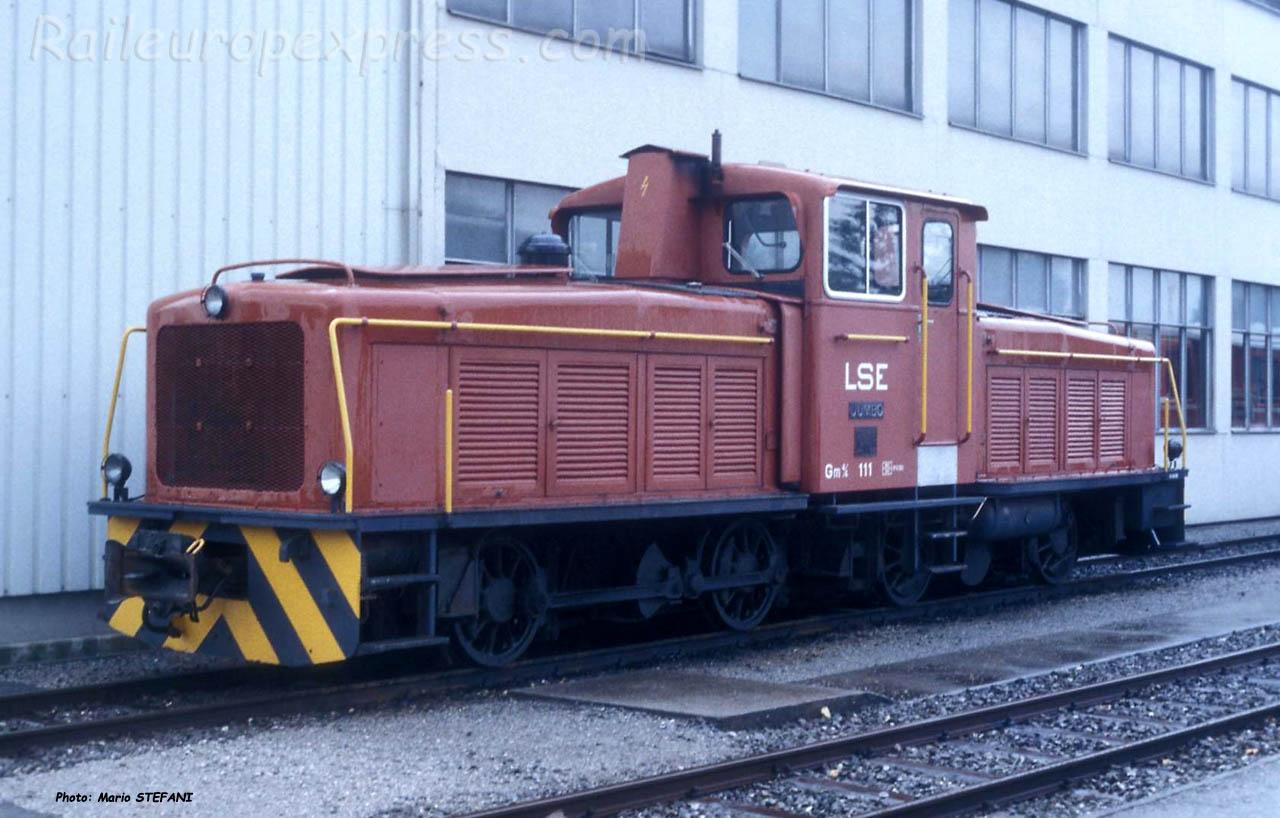 Gm 4/4 111 LSE à Stansstad (CH)