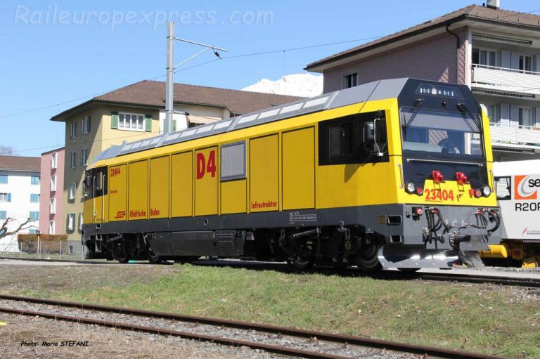 Gmf 4/4 23404 RhB à Landquart Ried (CH)