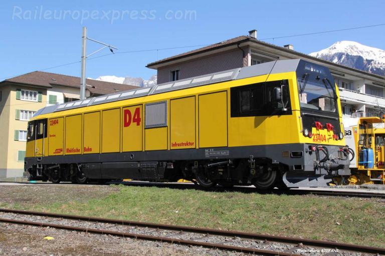 Gmf 4/4 23404 RhB à Lanquart (CH)