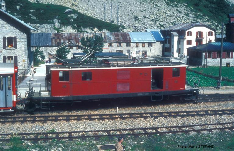HGe 4/4 36 FO à Gletsch (CH)