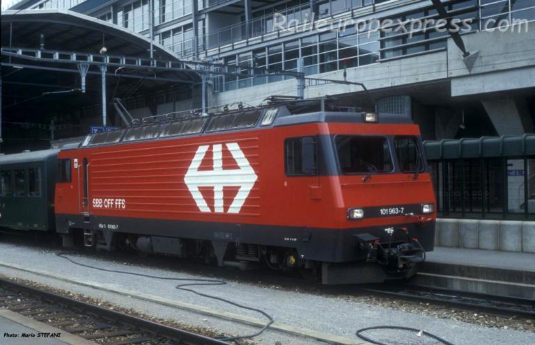 HGe 4/4 101 963-7 CFF à Luzern (CH)