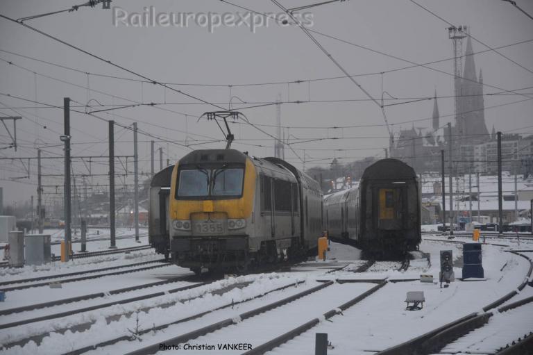 HLE 1355 SNCB à Arlon (B)