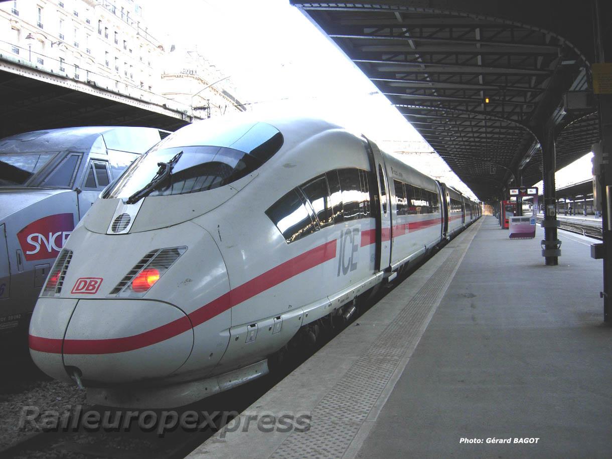 ICE DB à Paris Est