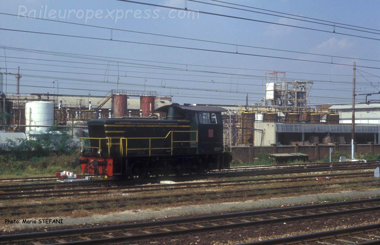 Locotracteur FS à Milano Centrale (I)
