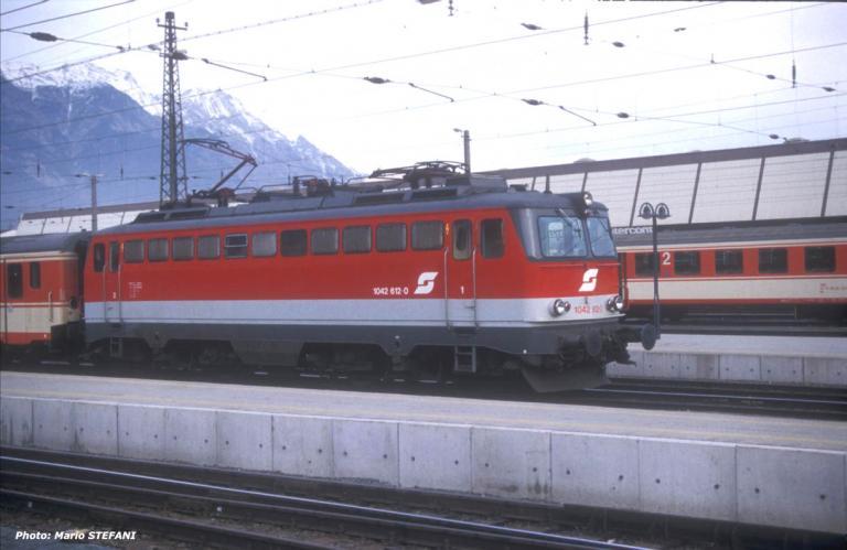 OBB 1042 612-0 Innsbruck