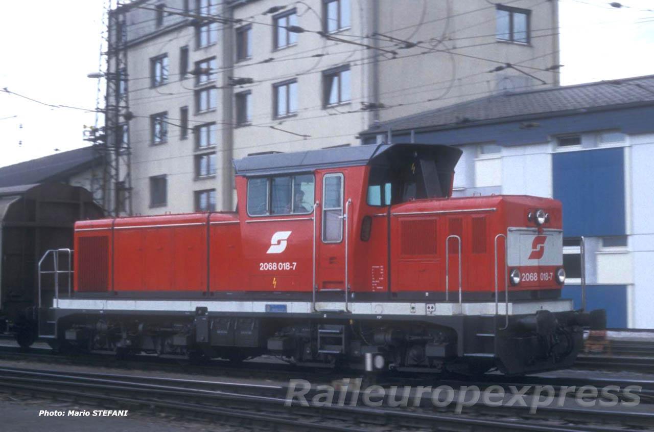 OBB 2068 018-7 Salzburg