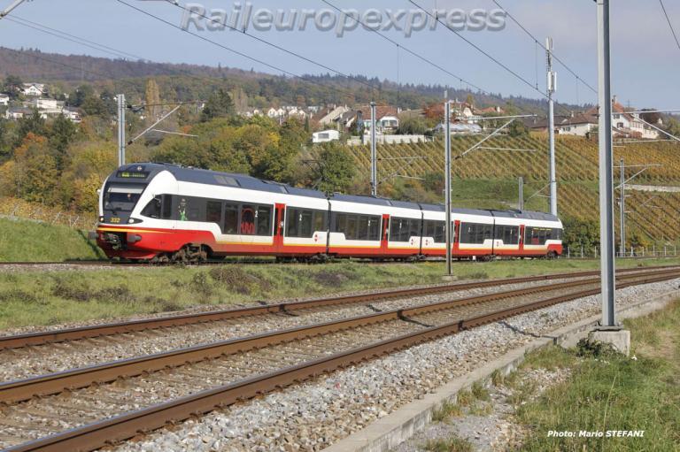 RABe 527 TRN à Auvernier