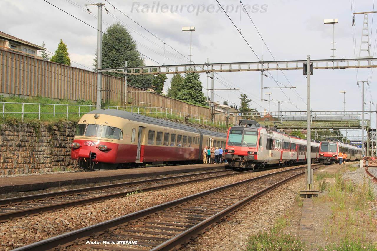 RAe 1053 CFF TEE à Auvernier (CH) 4