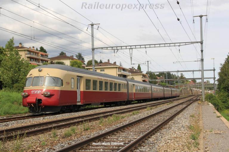 RAe 1053 CFF TEE à Auvernier (CH) 8