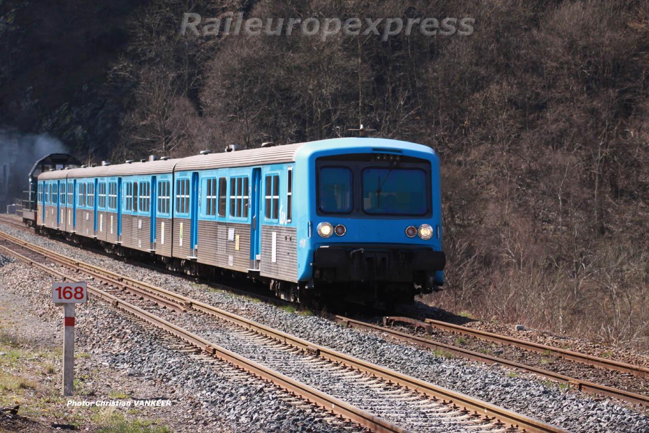 Rame Réversible Régionale SNCF