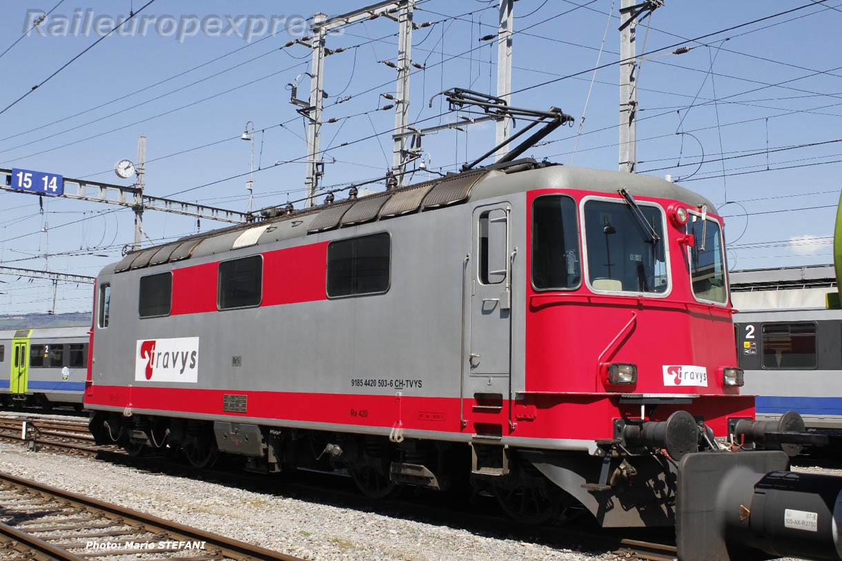 Re 420 503-6 TRAVYS à Spiez