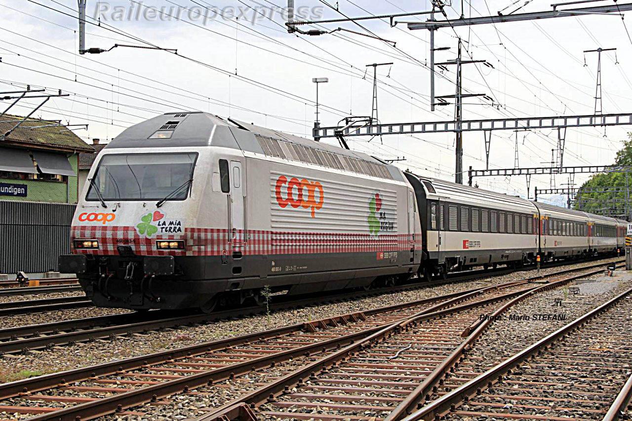 Re 460 083-9 CFF à Ostermundigen (CH)