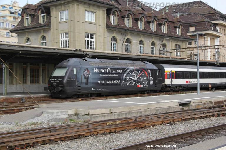 Re 460 CFF à Lausanne