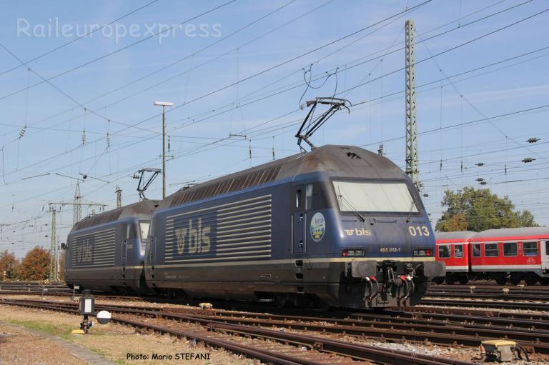 Re 465 013-1 BLS à Basel (CH)