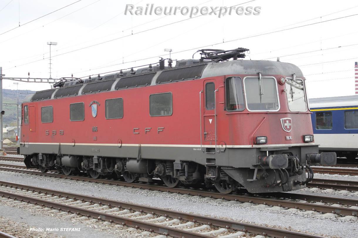 Re 6/6 11616 CFF à Cornaux