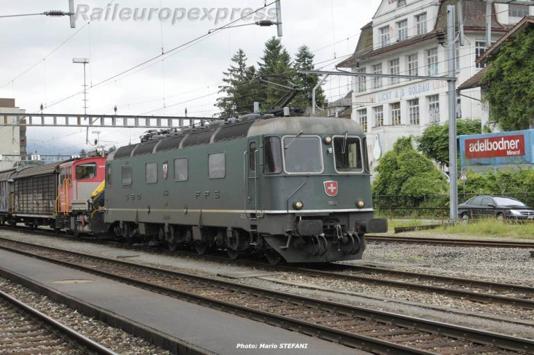 Re 6/6 11646 CFF à Arth-Goldau