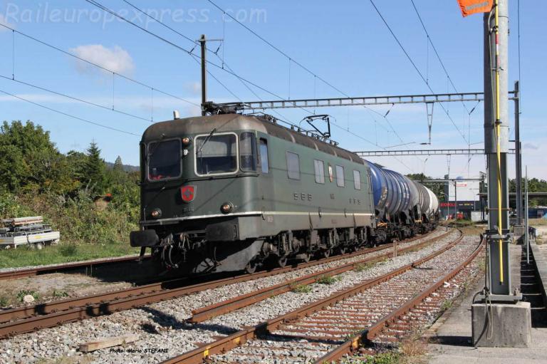 Re 6/6 11646 CFF à Boudry (CH)