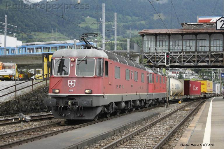 Re 6/6 11678 CFF à Arth-Goldau (CH)