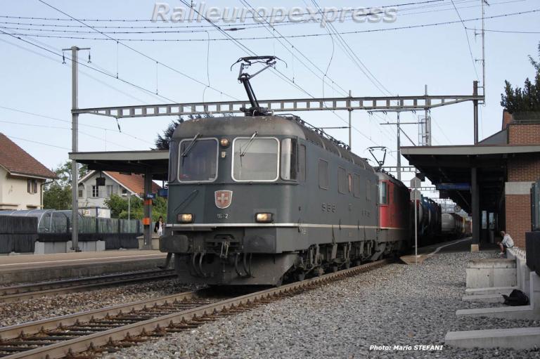 Re 6/6 CFF à Muntsingen
