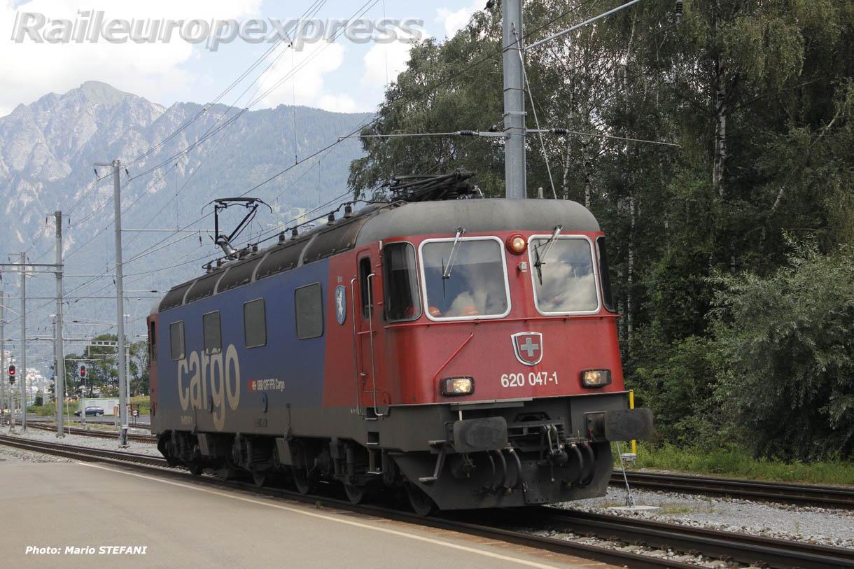 Re 620 047-1 CFF à Felsberg