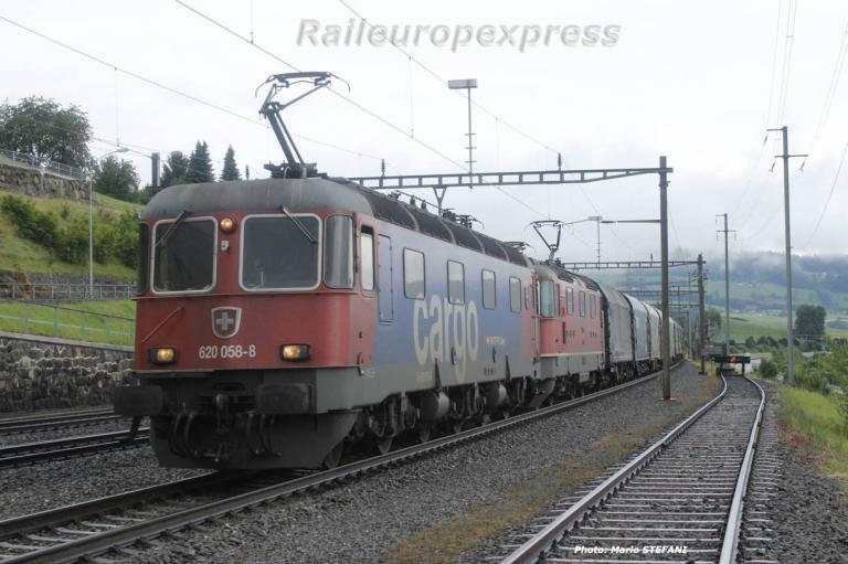 Re 620 058-8 CFF à Immensee
