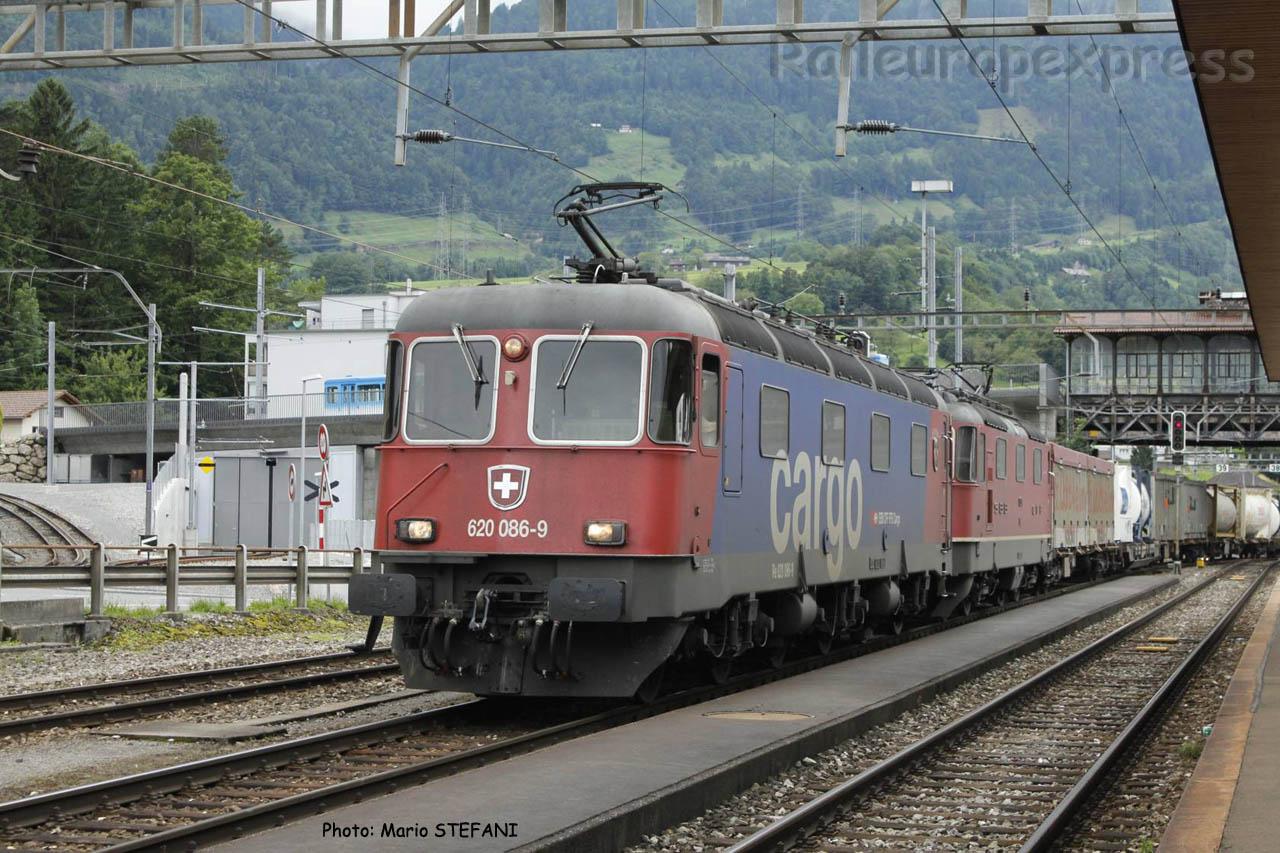 Re 620 086-9 CFF à Arth Goldau (CH)
