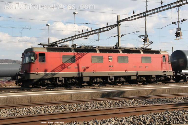 Re 6/6 11649 CFF à Cornaux (CH)