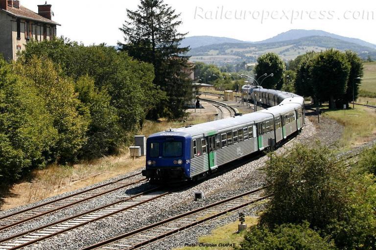 RRR SNCF à St Georges d'Aurac (F-43)
