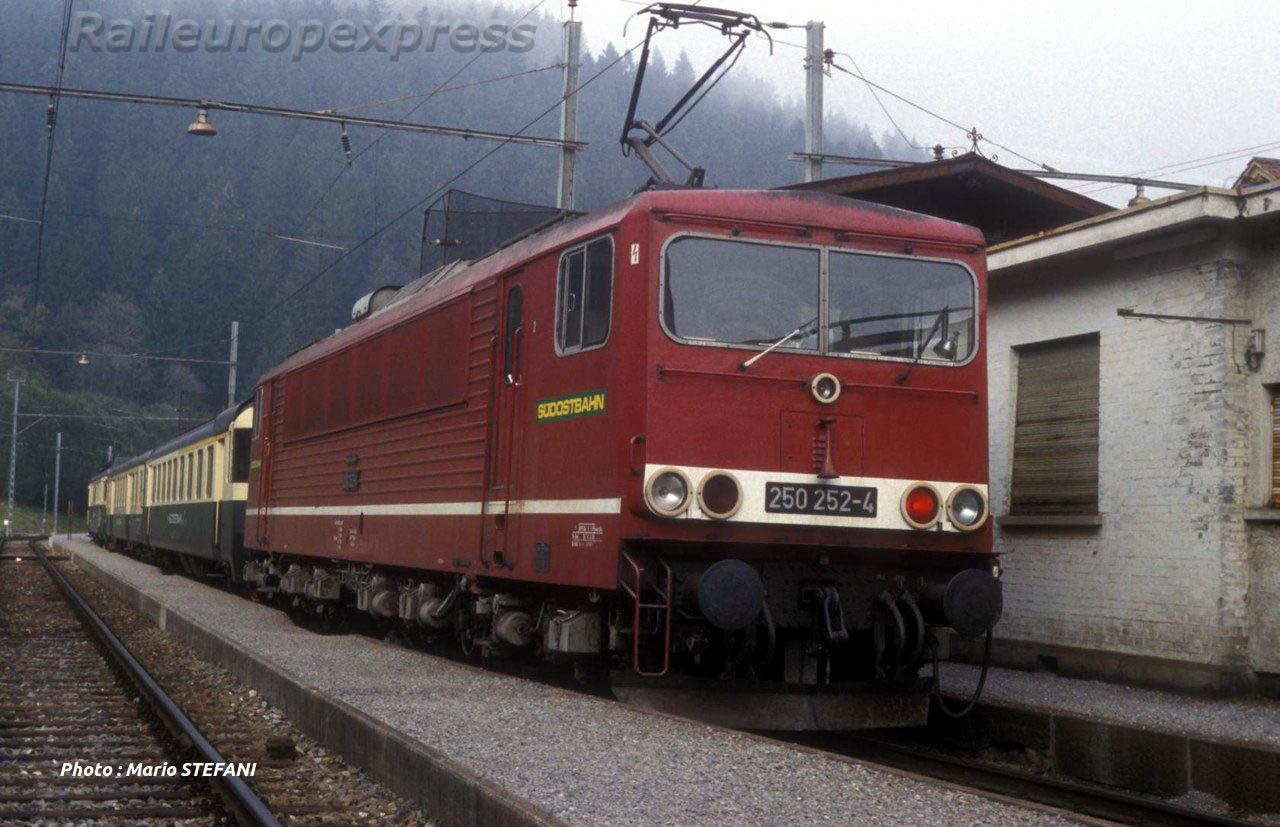SOB ex DR 250 252 4 á Biberbrugg