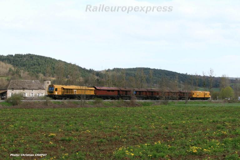 Train meuleur vers Blesle (F 43)