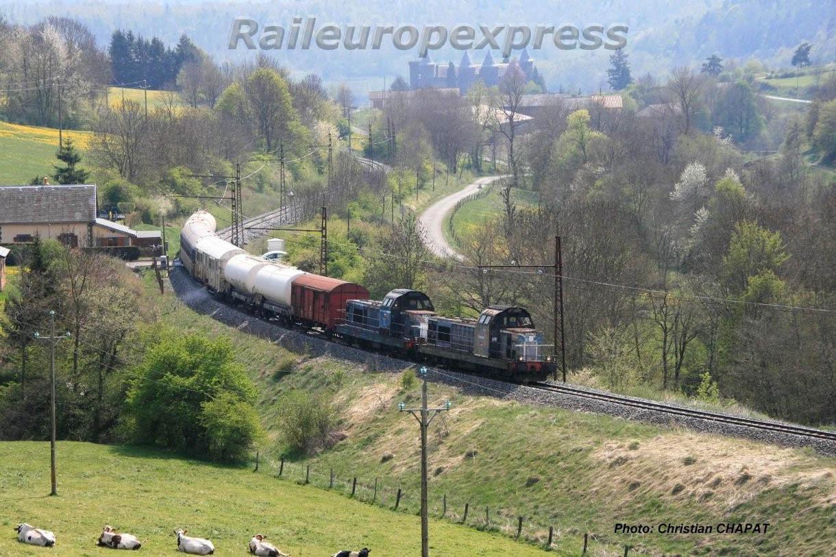 UM de BB 66000 vers Le Saillant