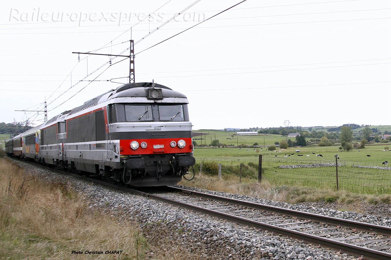 UM de BB 67400 SNCF à Talizat (F-15)