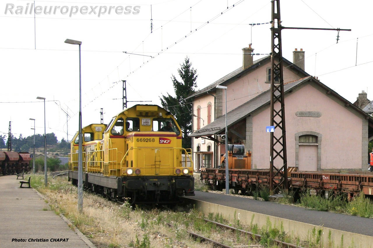 UM de BB 69 000 à Aumont-Aubrac (F 48)