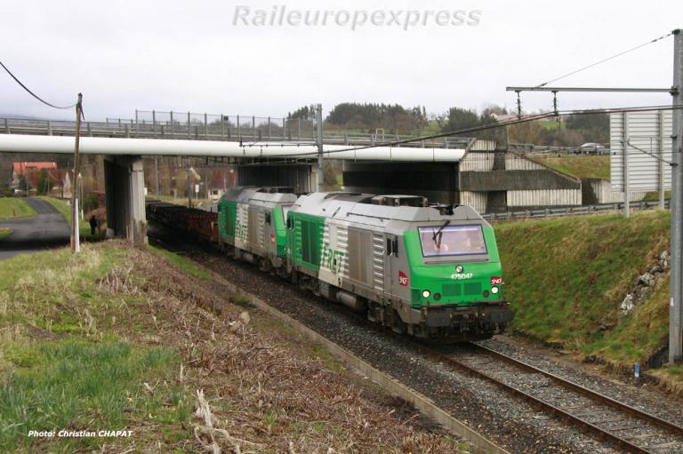 UM de BB 75000 vers Saint Flour (F 15)