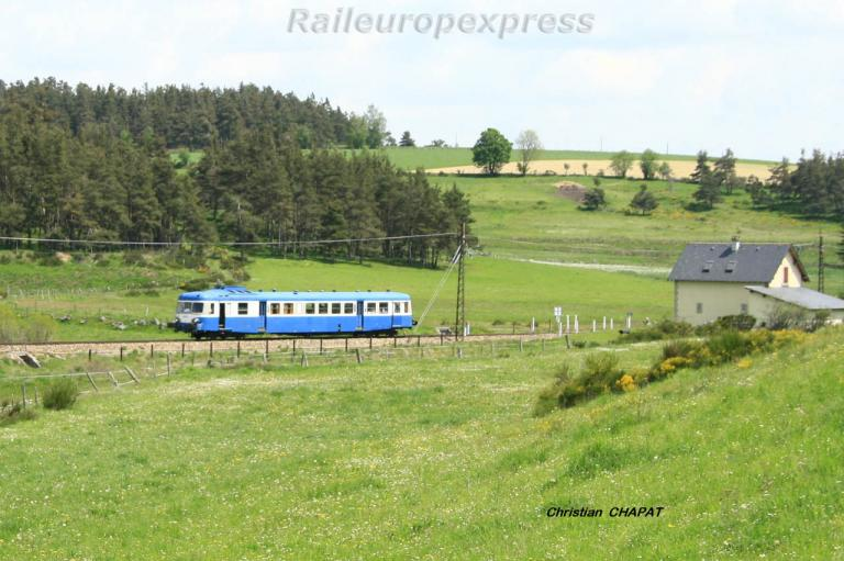 X 2800 près d'Aumont-Aubrac