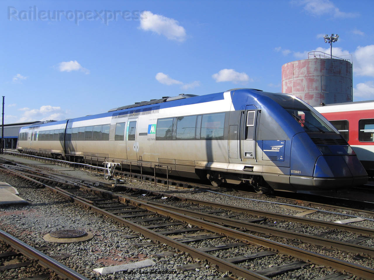 X 72601 SNCF à Bordeaux (F-33)