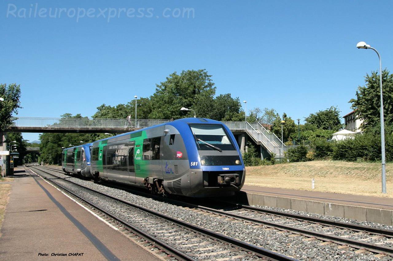 X 73500 SNCF Le Cendre (F-63)