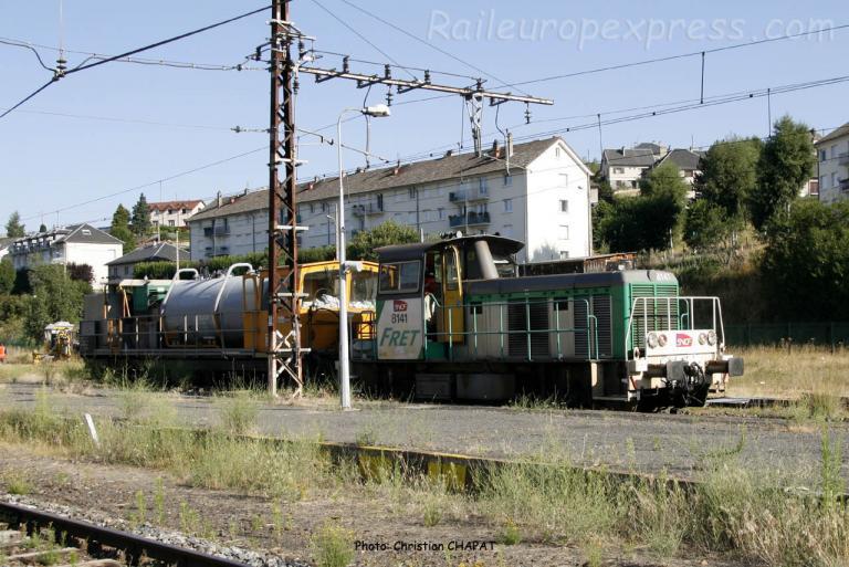 Y 8141 SNCF à Saint Flour (F-15)