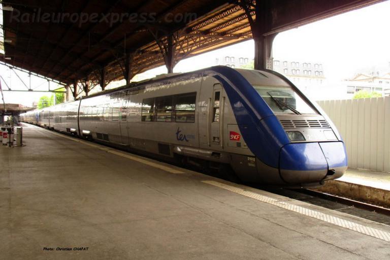 Z 21500 SNCF à Paris Saint Lazare (F-75)