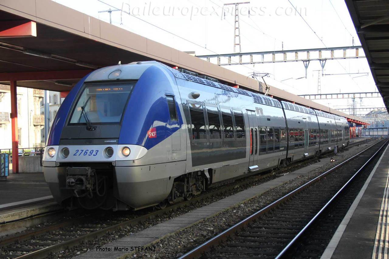 Z 27693 SNCF à Genève (CH)