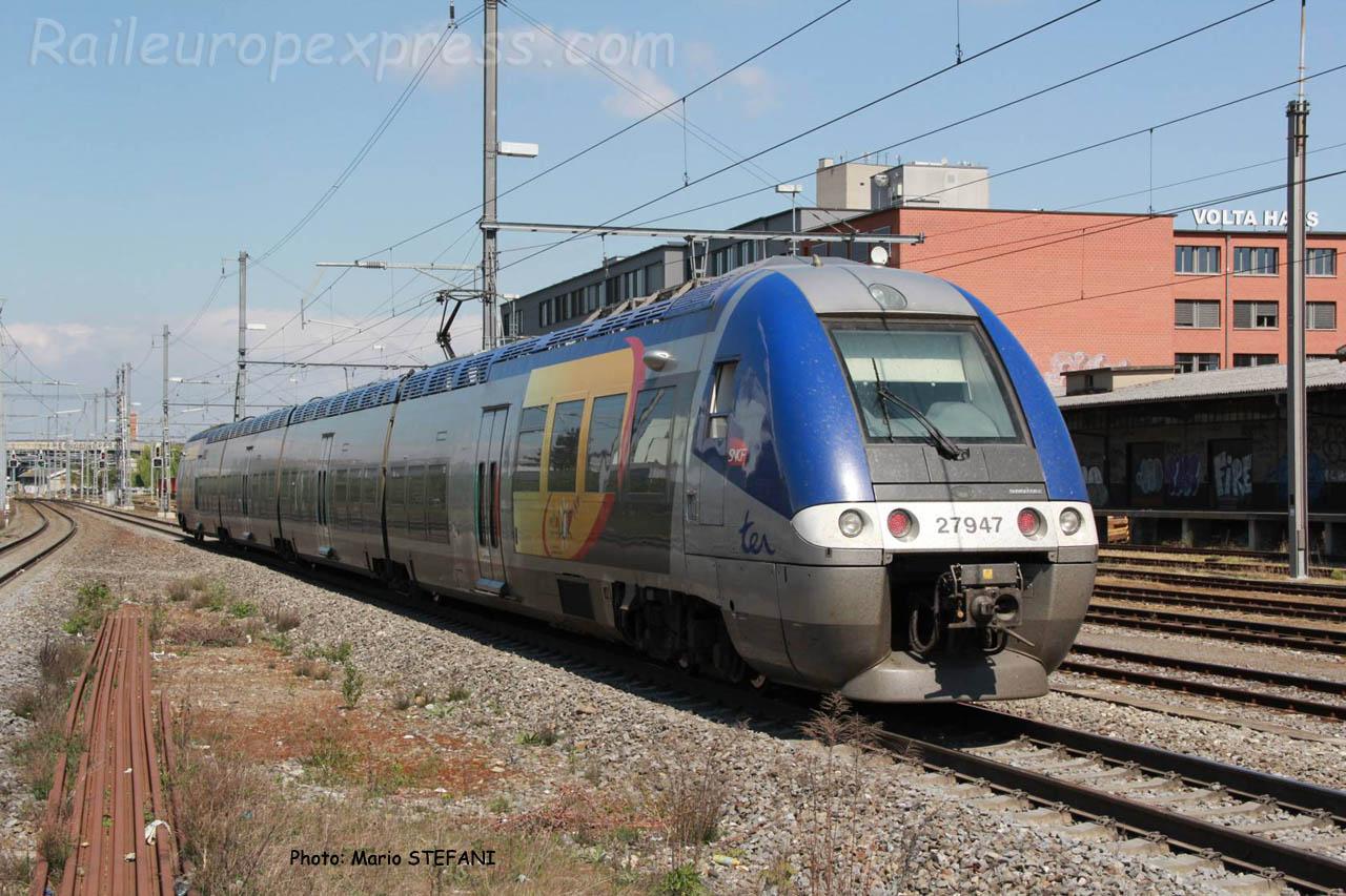 Z 27947 SNCF à Basel (CH)