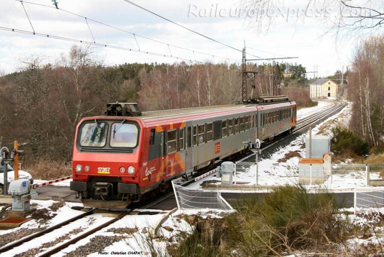 Z 7357 SNCF à Arcomie (F-48)