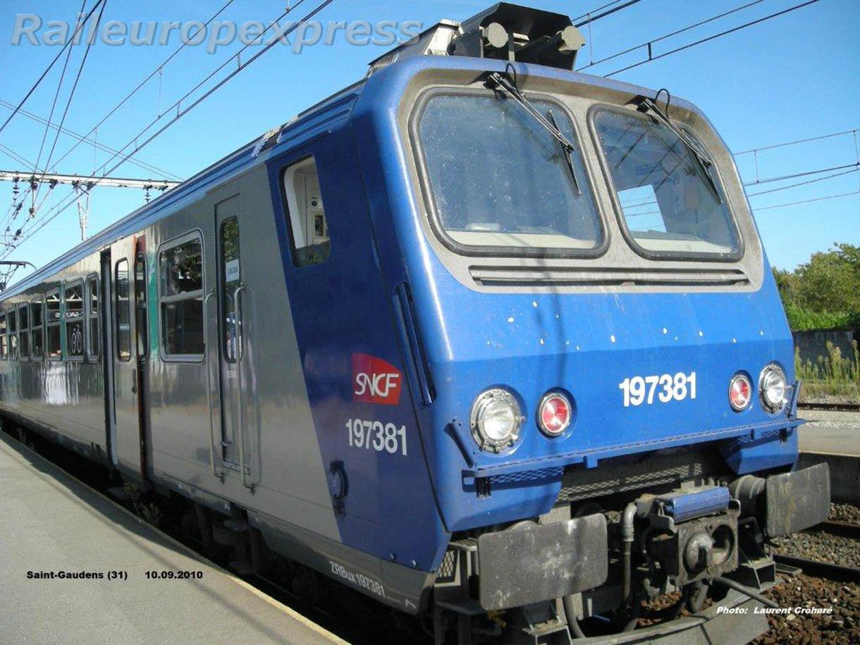 Z 7381 à Saint Gaudens