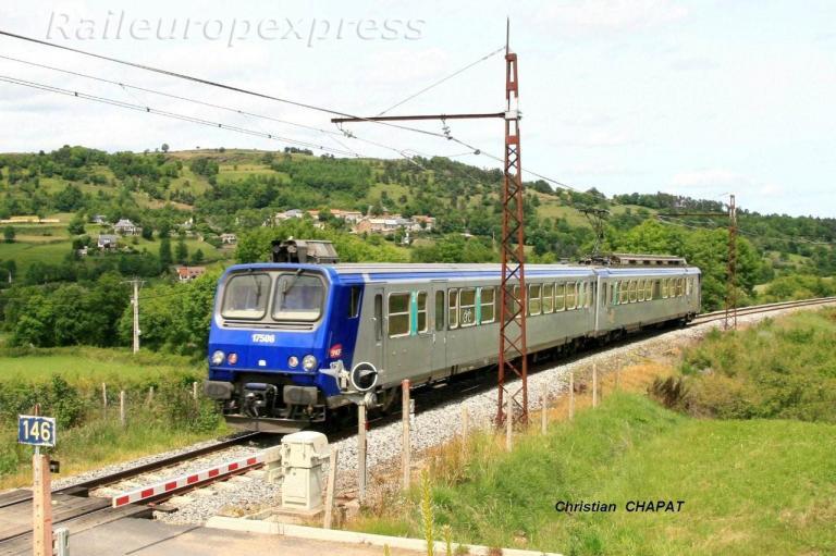 Z 7506 près de Saint Flour