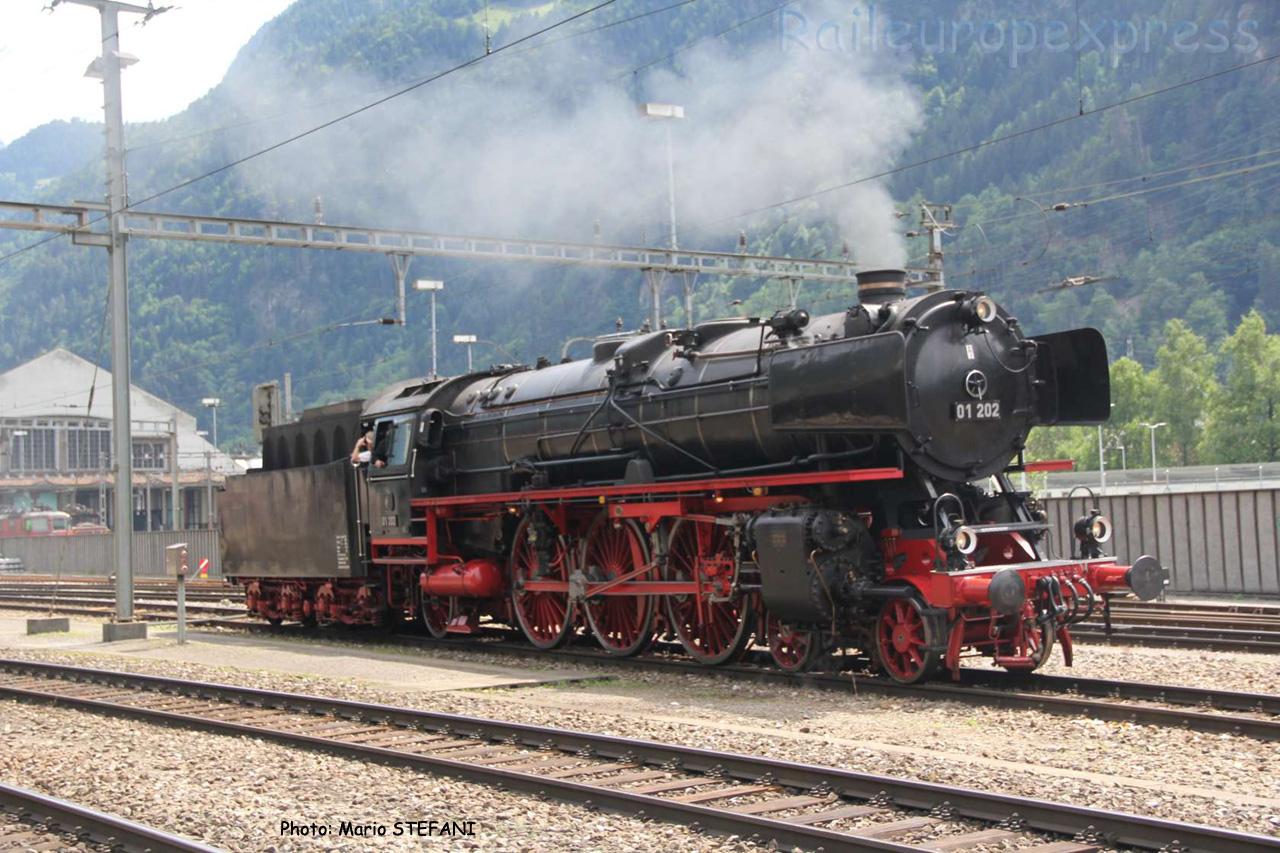 01 202 DB à Erstfeld (CH)