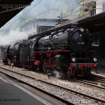 01 202 DB à Göschenen (CH)