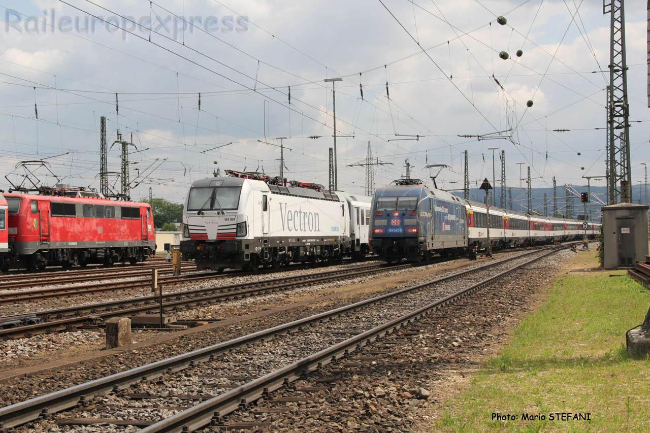 101 042-0 DB à Basel (CH)