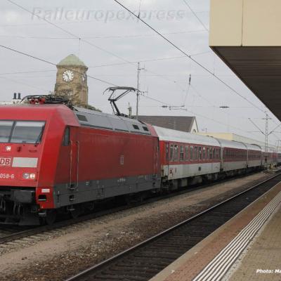 101 058-6 DB à Basel