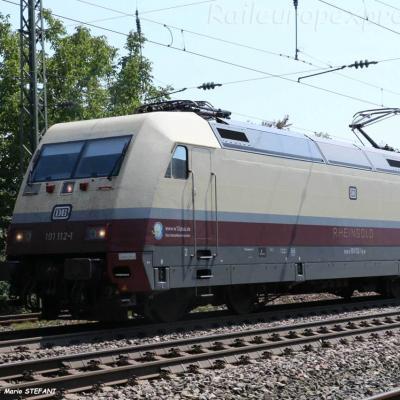 101 112-1 DB à Müllheim (D)